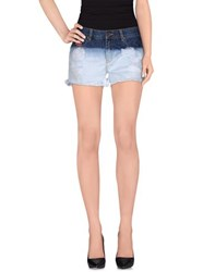 Superdry Denim Denim Shorts Women Blue