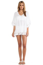 L Space Offshore Caftan White