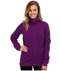 Black Diamond Coefficient Hoody Grape Women's Sweatshirt Purple