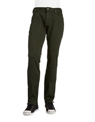 John Varvatos Bowery Slim Fit Pants Green