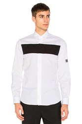Mcq By Alexander Mcqueen Shields Pop Button Down White