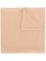 Liska Pure Cashmere Scarf Nude And Neutrals