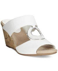 Easy Street Shoes Easy Street Ever Mule Wedge Sandals Women's Shoes