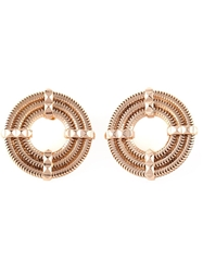Lara Bohinc 'Apollo' Earrings Metallic