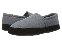 Acorn Moc Summerweight Blue Slate Men's Slippers