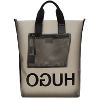 Hugo Black Translucent X Ray Tote