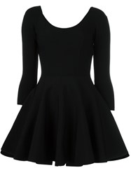 Valentino Ballerina Mini Dress Black