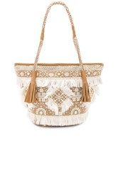 Shashi Belly Tote Beige