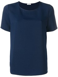 P.A.R.O.S.H. Navy Relaxed T Shirt Blue