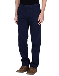 Paoloni Trousers Casual Trousers Men Blue