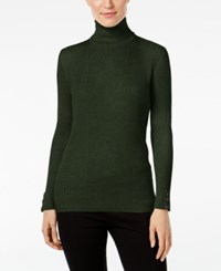 Styleandco. Style Co. Turtleneck Sweater Only At Macy's Dark Ivy