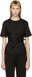 Each X Other Black Belted Top