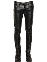 April 77 16Cm Joey Faux Leather Pants Black