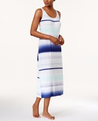 Alfani Striped Knit Nightgown Only At Macy's Aztec Stripe