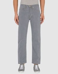 Cotton Belt Denim Pants Grey