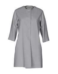 Trou Aux Biches Overcoats Light Grey
