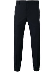 Wooyoungmi Tailored Trousers Men Wool 44 Blue