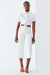 Lucca Couture Vera Cropped Pant White