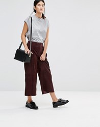 Gestuz Ynez Cropped Trousers Sassafras Red