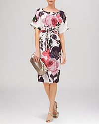 Phase Eight Chantay Rose Print Dress Multi Coloured
