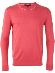 Michael Kors Crew Neck Sweater Red