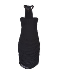 Guess By Marciano Knee Length Dresses Black