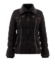 Morgan Leather Look Studded Detail Jacket Black