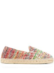 Manebi Recycled Dhurrie Shoes Multicolour
