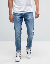 Replay Anbass Slim Fit Jean Light Stonewash 23C940 Blue