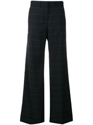 Paul Smith Ps Checked Trousers Blue
