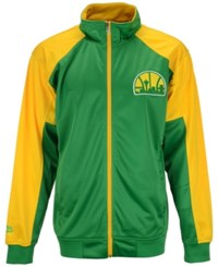 Majestic Men's Seattle Supersonics Geo Track Jacket