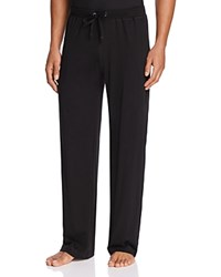 Daniel Buchler Peruvian Pima Cotton Lounge Pants Black