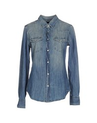 Truenyc. Denim Denim Shirts Women