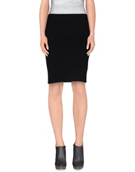 La Fee Maraboutee Knee Length Skirts Black