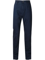 7 For All Mankind 'The Chino' Trousers Blue