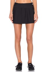 Trina Turk Tennis Mini Skirt Black
