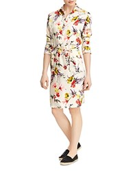 Ralph Lauren Floral Print Shirt Dress Multi