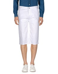 Ice Iceberg 3 4 Length Shorts White