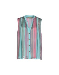 Genny Shirts Turquoise