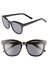 Diff Ryder 52Mm Polarized Sunglasses Black Grey Black Grey