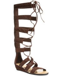 Carlos By Carlos Santana Kingston Tall Lace Up Gladiator Sandals Women's Shoes Mustang