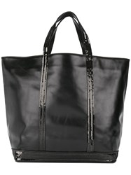 Vanessa Bruno Cabas Tote Women Leather One Size Black