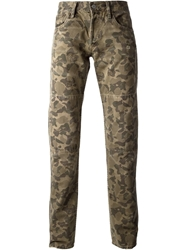 Polo Ralph Lauren Camouflage Jeans Green