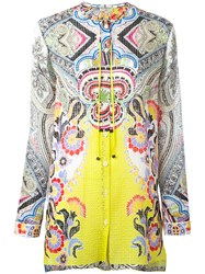 Etro Paisley Tunic Yellow Orange