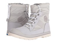 Palladium Pampa Hi Blitz Lp Vapor Marshmallow Women's Lace Up Boots White