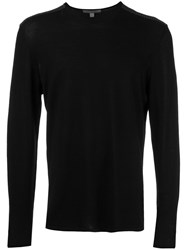 John Varvatos Crew Neck Jumper Black