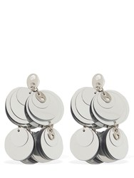 Paco Rabanne Sparkle Earrings Silver