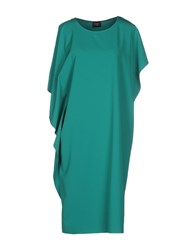 Blanca Luz Dresses Knee Length Dresses Women Emerald Green
