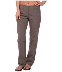 Exofficio Nomad Roll Up Pant Slate Women's Casual Pants Metallic
