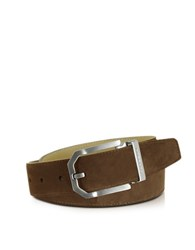 Moreschi Monterey Brown Suede Belt